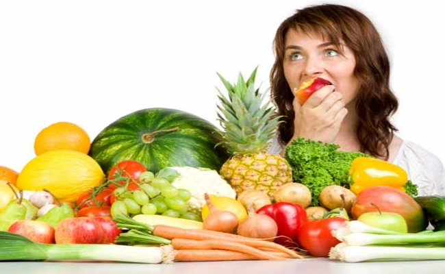 Consume Fresh Vegetables and Fruits