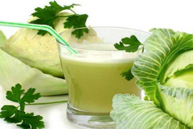 Cabbage Juice For White Patches