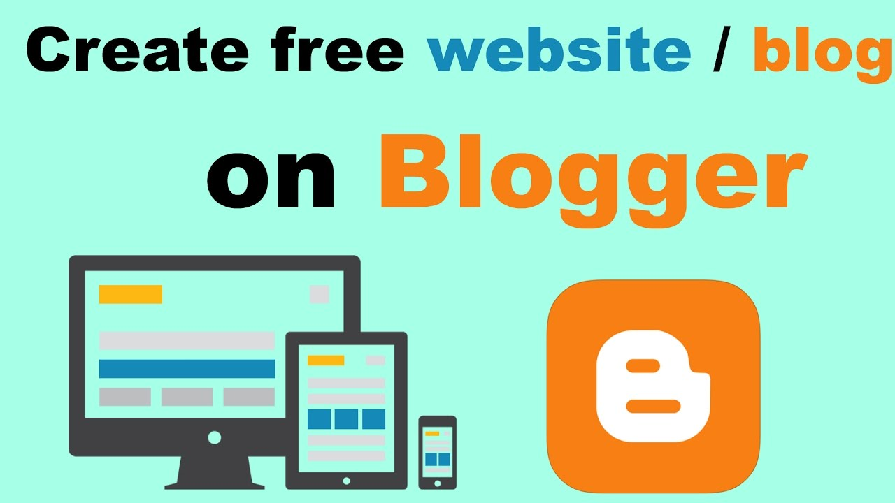 How to make Make Free website Blogger