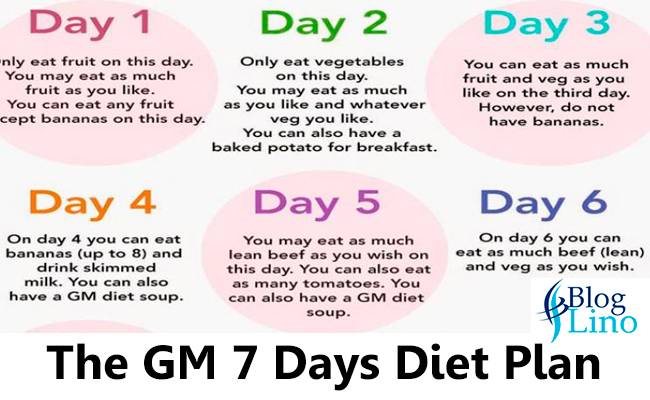 GM-Diet-plan