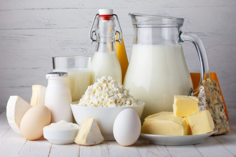 Go for Fat Free Dairy Products