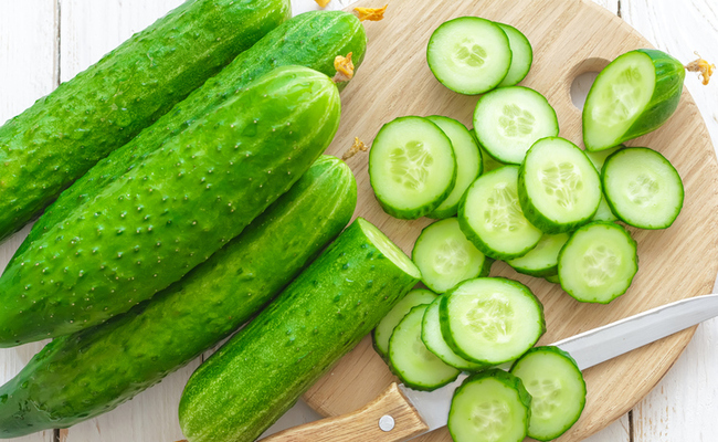 Cucumber for Pimples