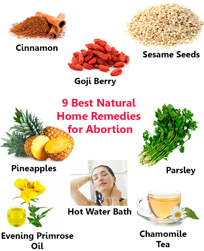 9 Best Natural Home Remedies for Abortion