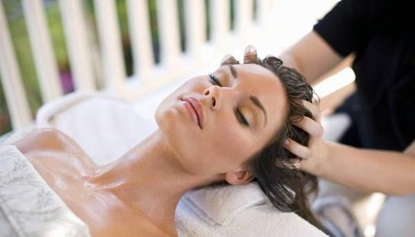 Hair Loss Treatment by Rubbing of Scalp