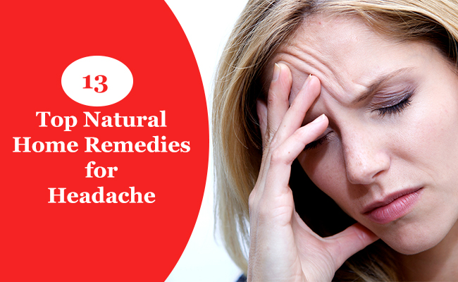 13 Top Natural Home Remedies for Headache