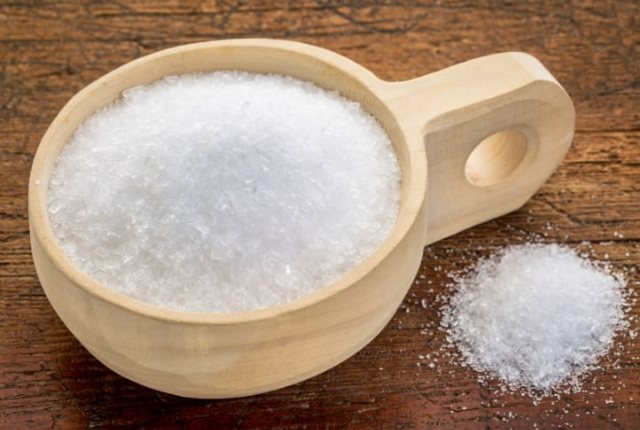 Sea salt for Razor Bumps or Ingrown Hair