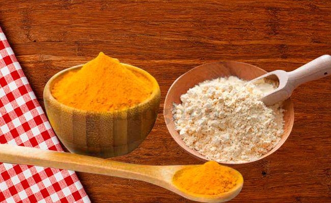 Turmeric and Besan Face Pack for Glowing Skin