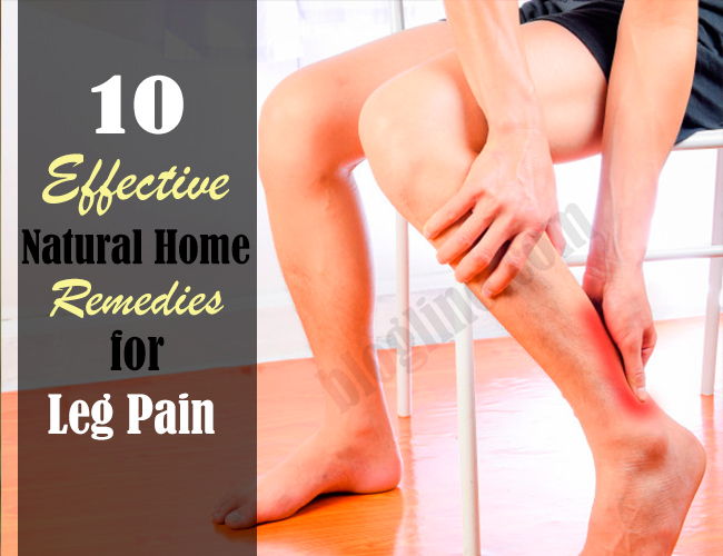10 Effective Natural Home Remedies for Leg Pain