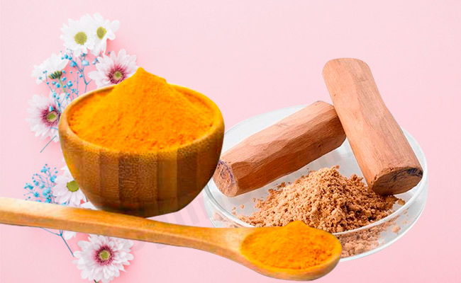 Turmeric and Sandalwood Face Pack