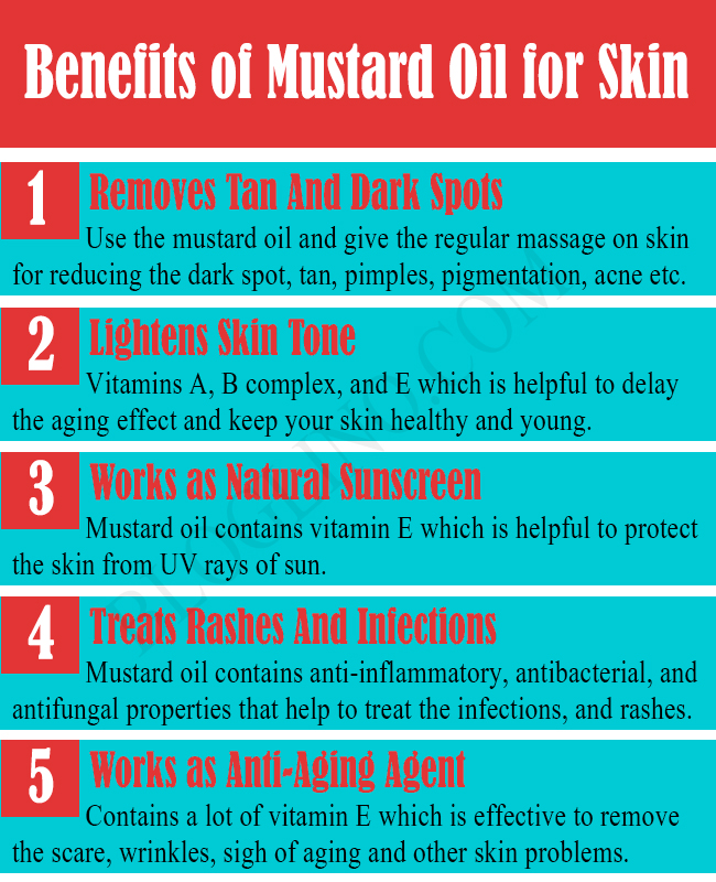 Benefits of Mustard Oil for Skin