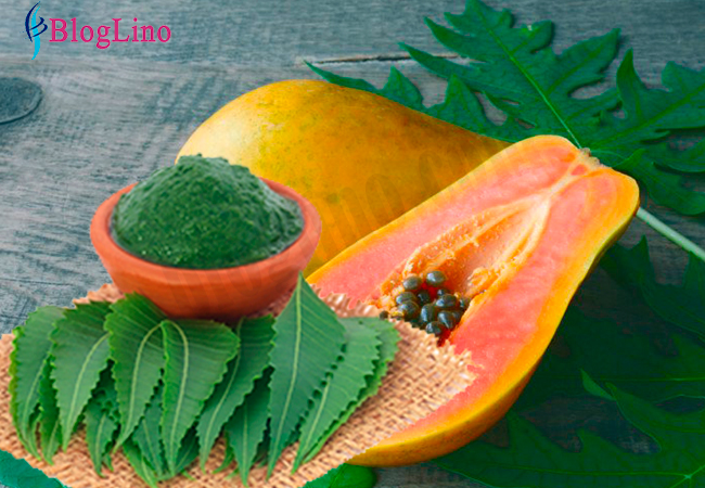 neem-papaya-face-pack-for-skin-whitening