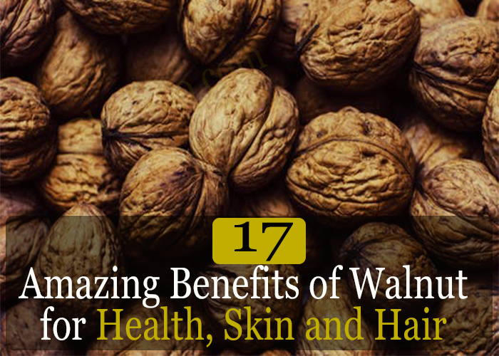 17 Amazing Benefits of Walnut for Health, Skin and Hair