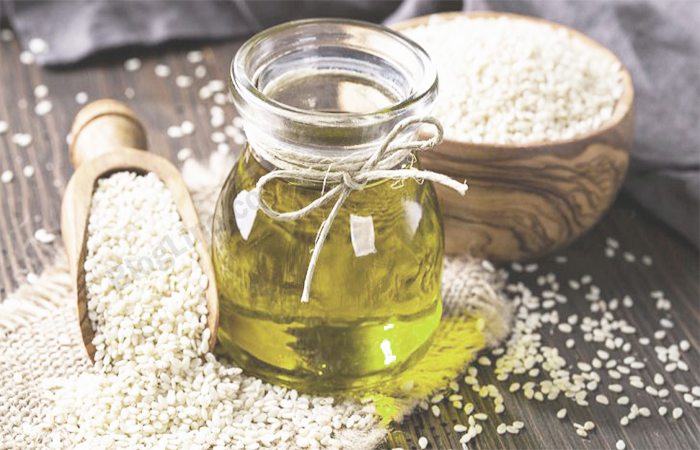 Sesame oil for Black Hair Naturally