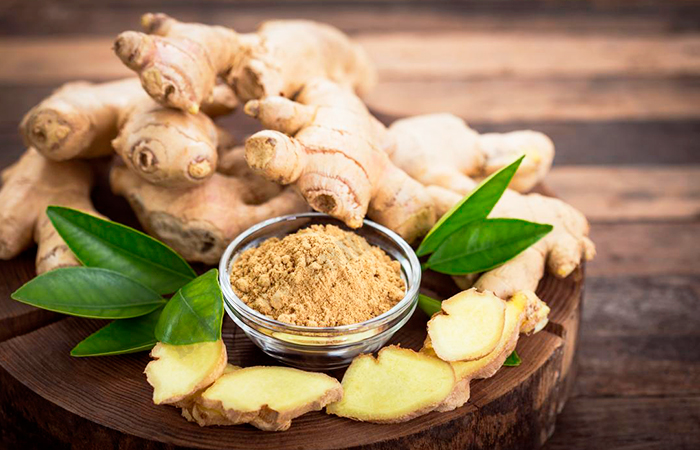 Ginger for Sore Throat