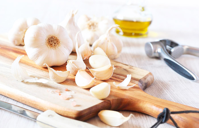 Garlic for Back Pain