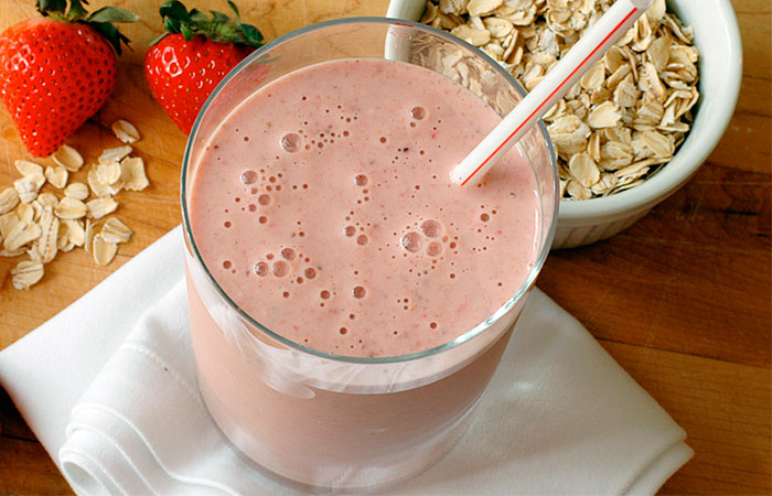 Oats and Chocolate Protein Shake recipe for Healthy Breakfast