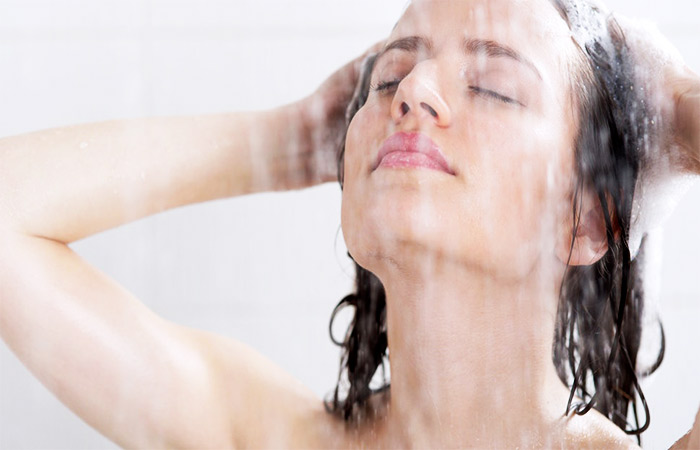 Warm Shower for Back Pain