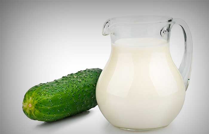 Cucumber and Milk Face Pack for Glowing Skin
