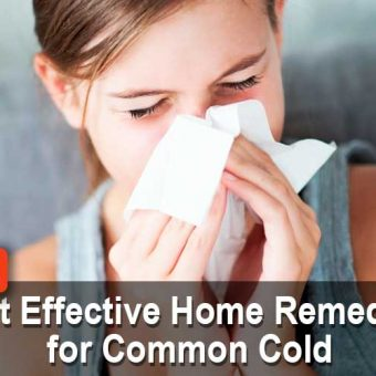 17 Best Effective Home Remedies for Common Cold