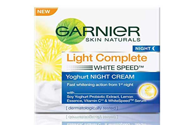 Garnier Skin Naturals Light Complete White Speed Yoghurt Night Cream