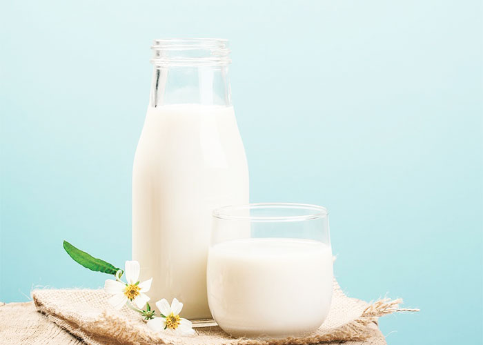 Milk for Glowing Skin Overnight