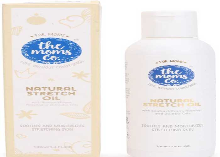 Moms Co Natural Stretch Oil, 100ml for Stretch Marks