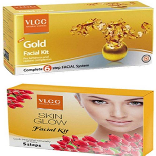 VLCC Gold Facial Kit for Glowing Skin