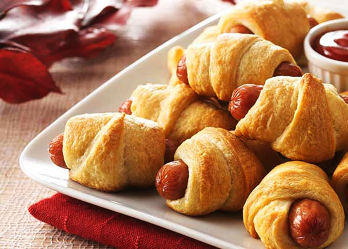 Pigs in Blankets for Kids Party