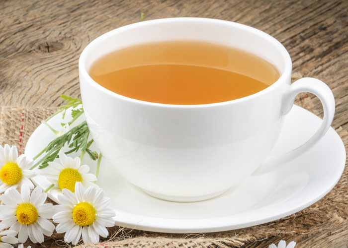 Chamomile Tea for Hiatal Hernia