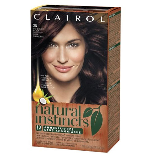 Clairol Natural Instincts Hair Color – Brown Black