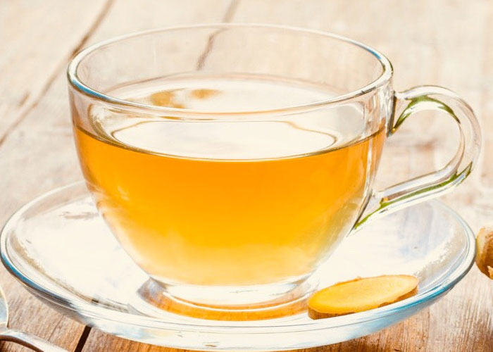 Ginger Tea for Hiatal Hernia