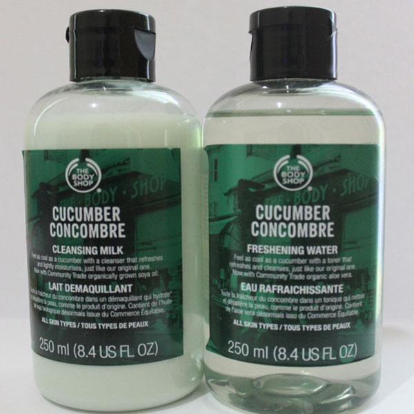 The Body Shop Cucumber Cleansing Milk