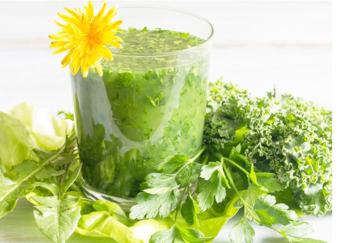 Dandelion Leaves to Treat Knee Joint Pain