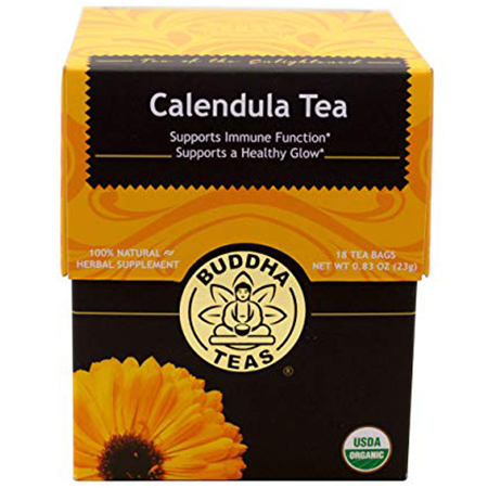 Calendula-Tea-for-Weight-Loss-and-Belly-Fat