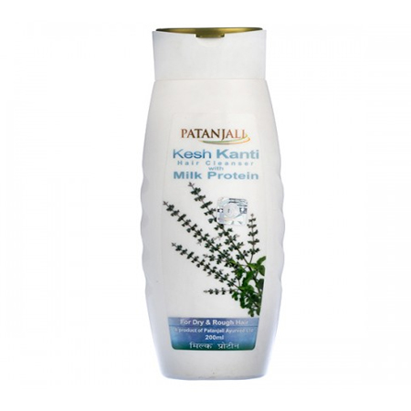 Patanjali Kesh Kanti Hair Cleanser With Milk Protein for Hair Fall