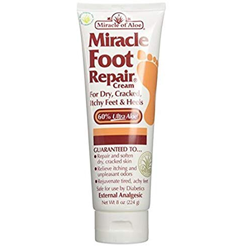 Miracle of Aloe Miracle Foot Repair Cream